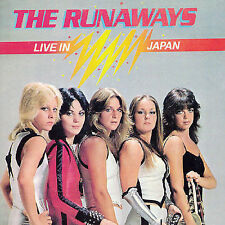 Live in Japan by The Runaways (CD, Jan-2004, Cherry Red)