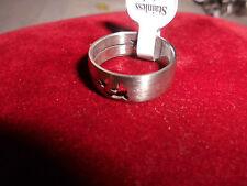 Unisex Modeschmuck-Ringe im Freundschafts-Stil aus Edelstahl