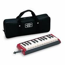 Suzuki MELODION BASS B-24C Keyboard harmonica Melodica  with Case - Mouthpiece
