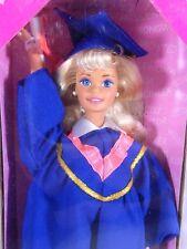 NIB BARBIE DOLL 1995 GRADUATION CLASS OF 96 BLUE