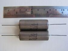 0.47uF 20% 200V ex-Ussr Pio Capacitor K40Y-9 Nos Qty=10