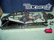 traxxas dragster funnycar funny car chassis tranny diff cage rc monster parts