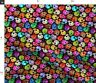 Modern Skull Halloween Day Of The Dead Dead Spoonflower Fabric by the Yard