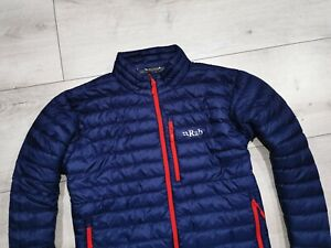 RAB___ Microlight PERTEX Down Jacket Mens Navy___ Size XL