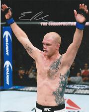 EVAN DUNHAM SIGNED AUTO'D 8X10 PHOTO MMA UFC 95 115 216 156 FIGHT NIGHT C