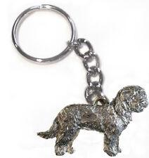 Goldendoodle Dog Keychain Keyring Harris Pewter Made Usa Key Chain Ring