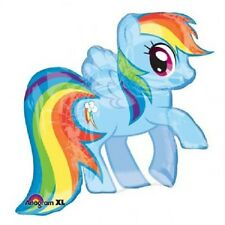 Shape My Little Pony Rainbow Dash 71cm X 68cm Foil Balloon as SHOWN