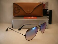 496287a8b8 Ray Ban LARGE METAL (RB3025-002 4O 58) Shiny Black with Blue