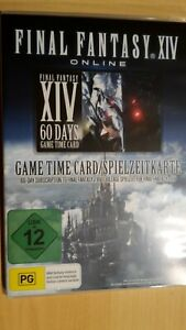 Final Fantasy XIV A Realm Reborn 60 Tage Game Time Card Key Code Spielzeit Top.