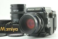 【NEAR MINT+++ w/ Hood】Mamiya RZ67 Pro II 110mm f/2.8 W 120 Film back II JAPAN