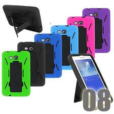 Shockproof Hybrid Heavy Duty Combo Stand Box Hard Case Cover For 8 Inch Tablet