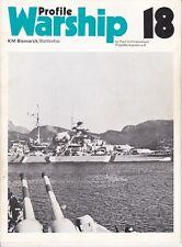Warship Profile 18 DKM BB Bismarck (Profile 1972) Paul Schmalenbach