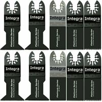 INTEGRA; 10pc Saw Blade Mix Oscillating Multi Tools fits MASTER MECHANIC