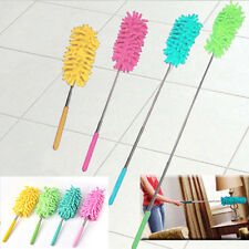Adjustable Chenille Car Feather Duster Dust Washing Dusting Cleaning Brush Tool