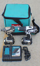 MAKITA 2pc 18v Lithium Ion Cordless Combo XFD01 Drill & LXDT04 Impact