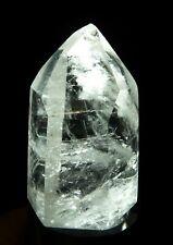 Quartz Crystal Polished Point 118 grams Reiki Display