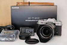 Fujifilm X-T20 + XF18-55mm F/2.8-4 Lens Kit with EXTRAS (Silver) -Near Mint-