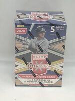 2020 Panini Elite Extra Edition Baseball Blaster Box 5 Cards Per Box Sealed