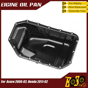 Engine Oil Pan for Honda Accord 2003 2004 2005 2006 2007 L4 144 2.4L (2354cc)