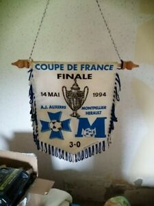 Fanion AJA 3-0 Montpellier