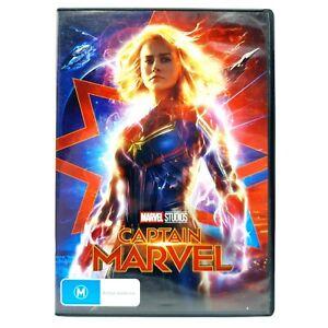 Captain Marvel (DVD, Region 4, 2019)