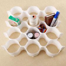 Boites de rangement blancs en plastique sans marque pour la maison