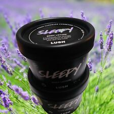 (2) Lush Sleepy Hand And Body Lotion  3.1oz Lavender