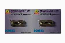 New Genuine 2 Sets KMC Missing Link 10 Speed CL559R For KMC & Shimano Gold