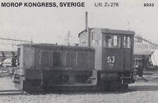 AK UNREAD Morop Congress Sweden litt. Z3 278 (G2503)