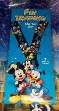 "Disney Parks Lanyard Mickey Goofy Donald ""Friends"" 4-pin Starter Set"