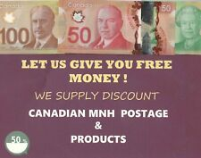 50 Poly Mailers 6X9 Self Seal Plastic  Envelopes Canada with 1.94  POSTAGE .