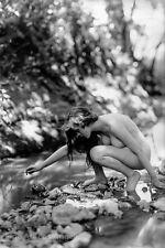 Albert Arthur Allen Photo, Female Figure near stream