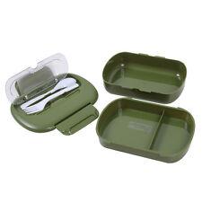 Rothco Plastic 5 Piece Cadet Camping Hiking Army Military Mess Kit Tins Box Set
