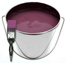 More details for painter decorator large stainless steel paint mixing bucket 12l handle 12 litres