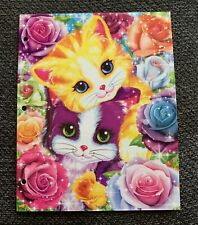 Lisa Frank Folder Playtime Kittens NEW 2 Pocket 3 Hole School Planets