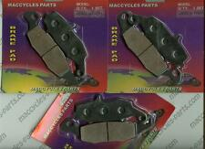 Kawasaki Disc Brake Pads KZ1000 2002-2003 & 2005 Front & Rear (3 sets)