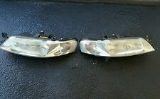 Holden Vectra HeadLights Replacement Halogen Pair Lights JS2 99 03 LH+RH Valeo