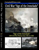 Navy Civil War Films Monitor vs Merrimack Ironclad DVD