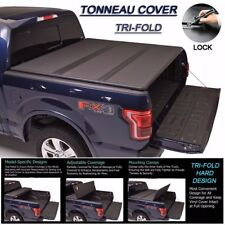 Fits 2005-2017 Nissan Frontier Tri-Fold Solid Hard Tonneau Cover 6ft Short Bed
