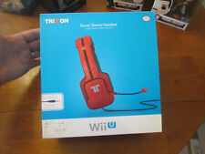 TRITTON Kunai Stereo Headset RED FOR NINTENDO WII U 3DS NEW IN BOX AUTHENTIC