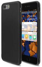 mumbi Hülle für iPhone 7 +Plus und iPhone 8 +Plus Schutzhülle GRIP Cover schwarz
