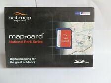 "Ordnance Survey 1:50k & 1:25k Lake District"" SD card  for Active 10 & 12"