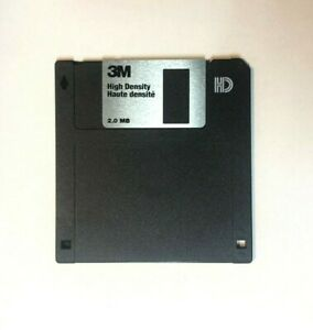 3M Quality High Density Floppy Disk For Older Synthesisers Samplers Sequencers