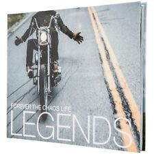 "Forever the Chaos Life ""Legends"" Book - choppers, motorcycles, road trips 1st ed"