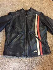 Women's Vintage Harley Davidson Leather Jacket Size Small