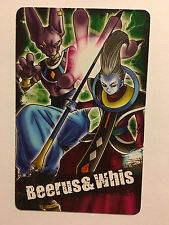 Dragon Ball Kai Super Card Gum (2) Beerus - Whis