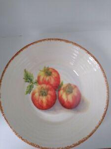 Williams Sonoma Jardin Potager Pasta Soup Bowl Tomatoes