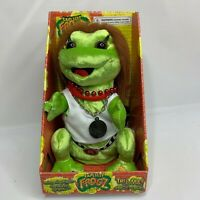 Gemmy Explicit Frogz Animated Singing Frog Sings Redneck Woman RARE