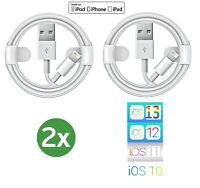 2x 100% für Original AppIe Ladekabel für iPhone 5 6 7 8 Plus X XS MAX XR 11 iPad
