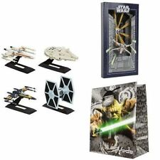 Star Wars Hasbro Titanium The Black Series 4 Starship Diecast Collection Set